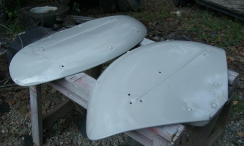 [Image of Freshly Painted Fenders]
