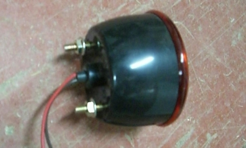 [Image Round Plastic or Metal Trailer Light]
